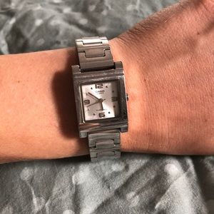 Silver Casio Watch